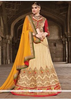 Classy Silk A Line Lehenga Choli