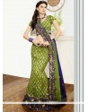 Attractive Green Silk Fish Cut Lehenga Choli