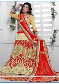 Mesmerizing A Line Lehenga Choli For Wedding