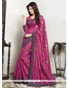 Specialised Purple Casual Saree