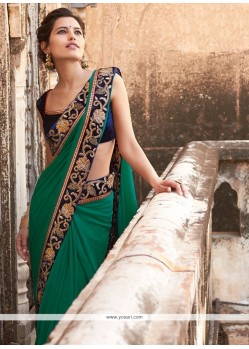 Innovative Georgette Designer Saree