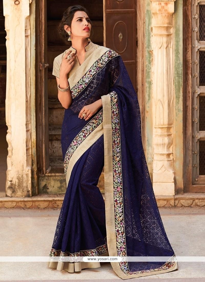 Dazzling Jacquard Designer Saree