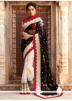 Epitome Embroidered Work Designer Saree