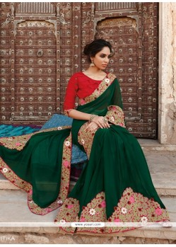 Excellent Georgette Designer Saree