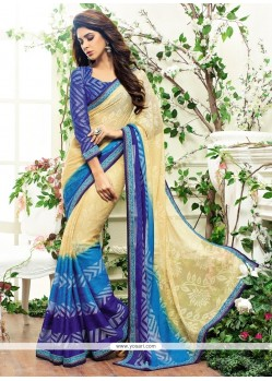 Sophisticated Multi Colour Designer Saree