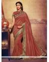 Snazzy Embroidered Work Designer Saree