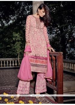 Bewildering Embroidered Work Designer Pakistani Suit