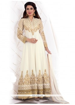 Flamboyant Patch Border Work Anarkali Salwar Kameez
