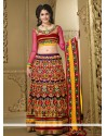 Perfect Purple Chiffon Heavy Embroidered Lehenga Choli