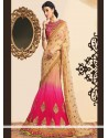 Spellbinding Pink Net Lehenga Choli