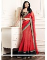 Daisy Shah Red Net Lehenga Choli