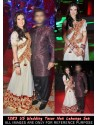 Urvashi Sharma White Velvet Lehenga Choli