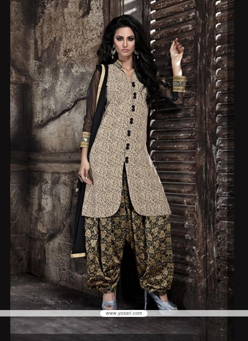 331c6d5aad Shop online Attractive Lace Work Designer Patiala Salwar Kameez