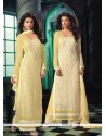 Vivacious Resham Work Georgette Designer Suit