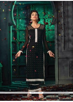 Dashing Resham Work Designer Suit