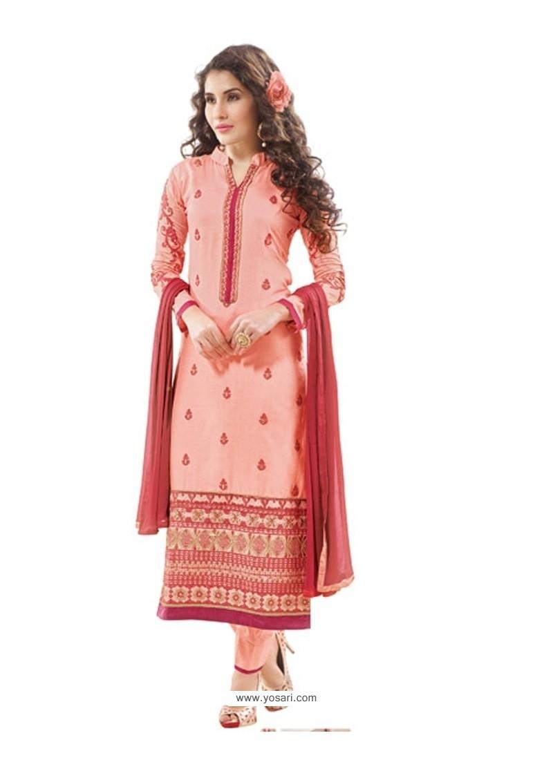 Precious Pink Designer Suit