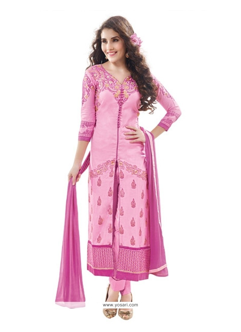 Energetic Pink Designer Suit