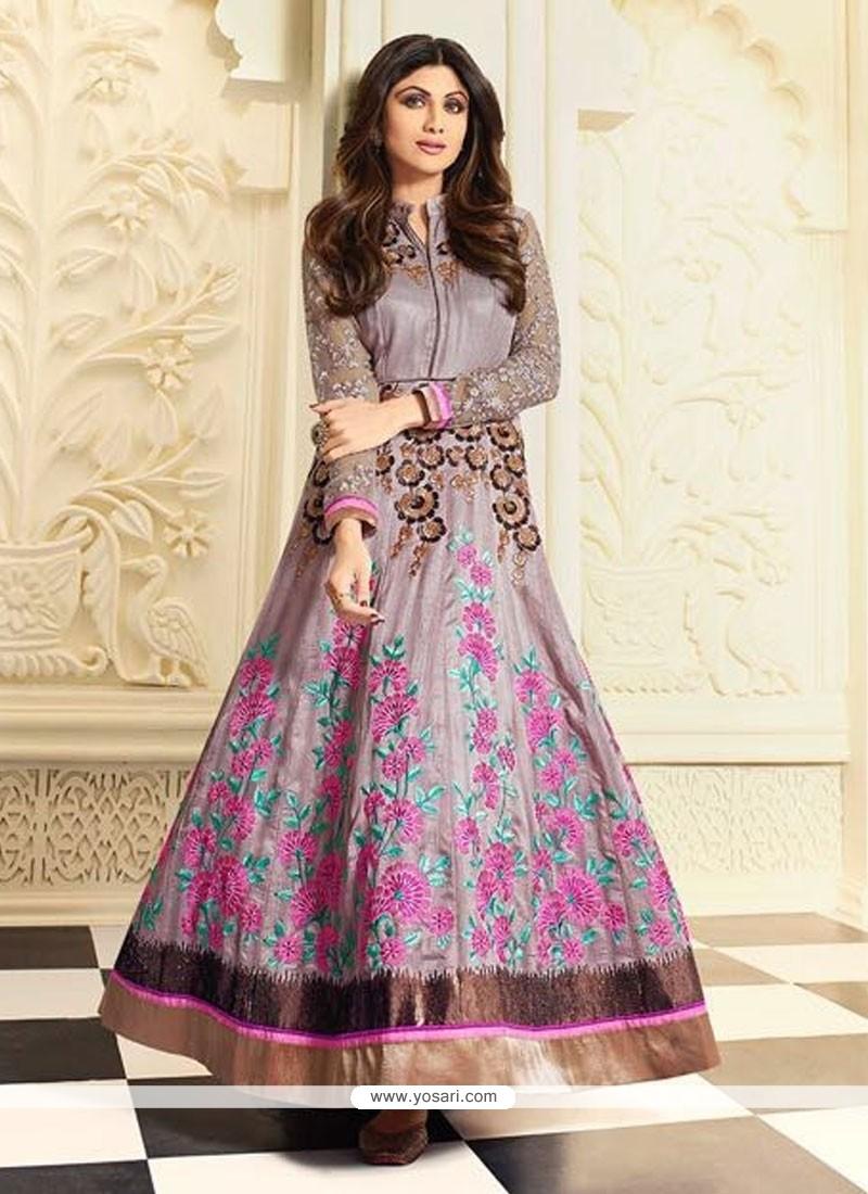 Shilpa Shetty Anarkali Salwar Kameez