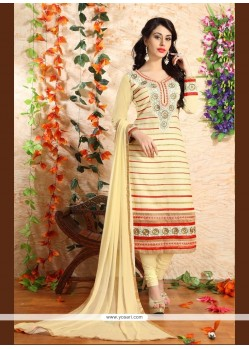 Exceptional Yellow Georgette Designer Suit