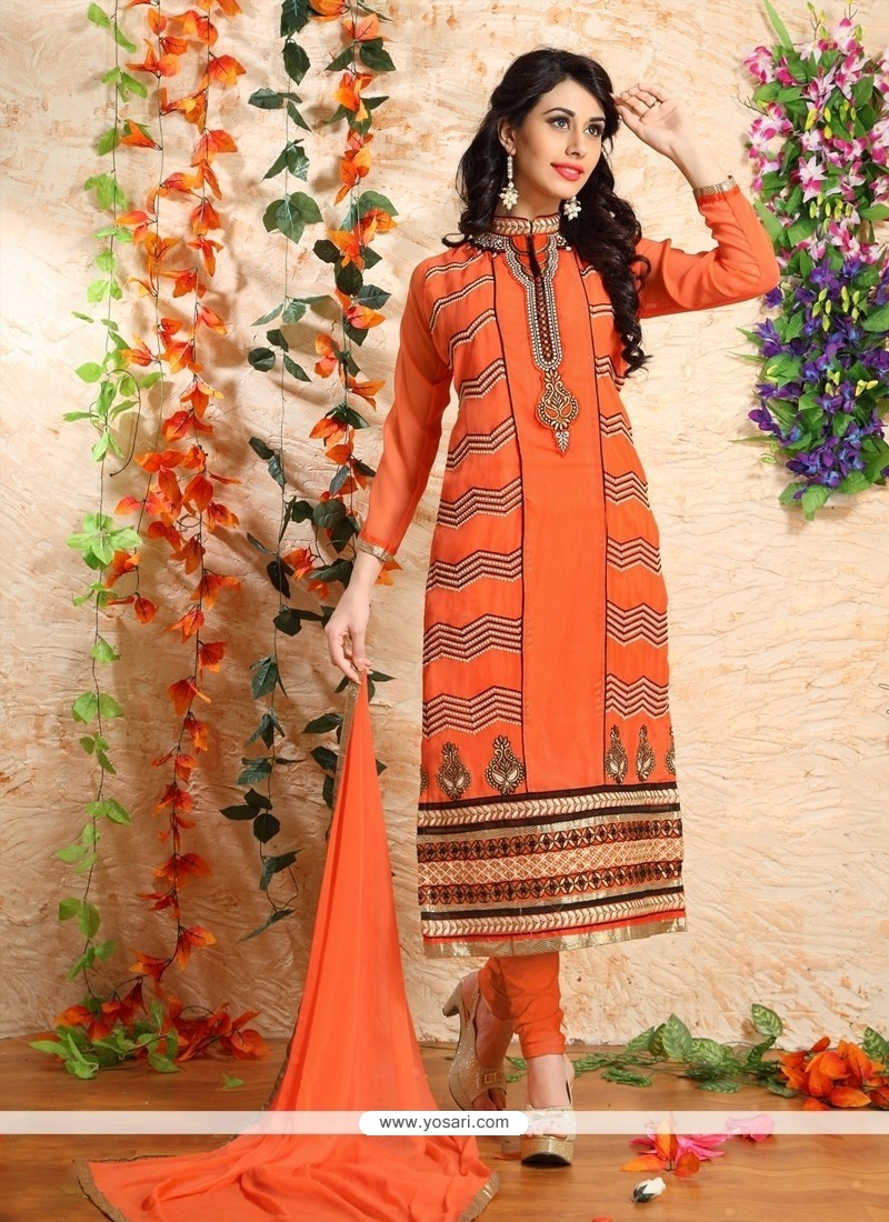 Beautiful Embroidered Work Designer Suit