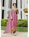 Opulent Art Silk Resham Work Designer Suit