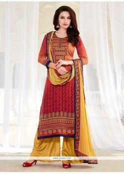 Stylish Multi Colour Designer Suit