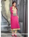 Glorious Chanderi Cotton Churidar Designer Suit