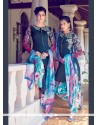 Auspicious Cotton Satin Multi Colour Digital Print Work Designer Suit