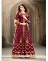 Classical Banglori Silk Anarkali Salwar Kameez