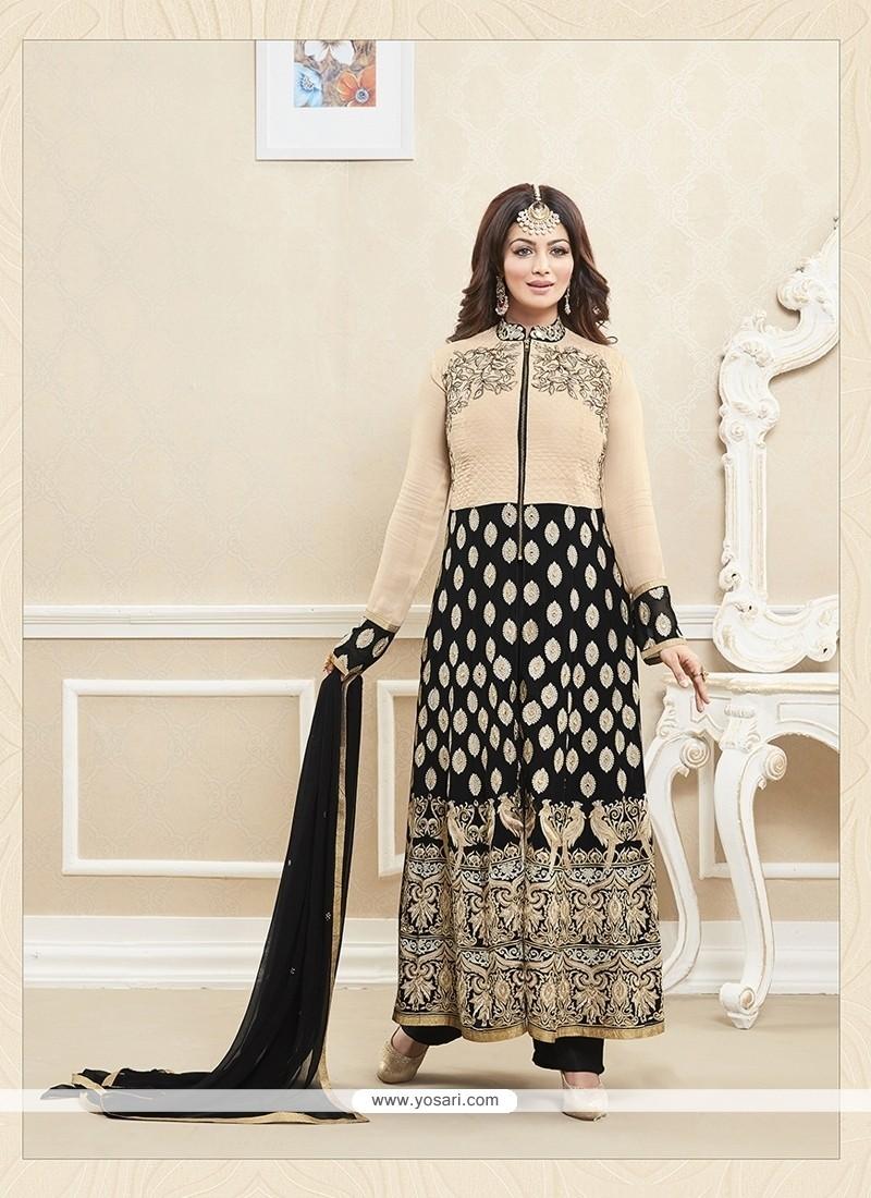 Ayesha Takia Black Designer Suit