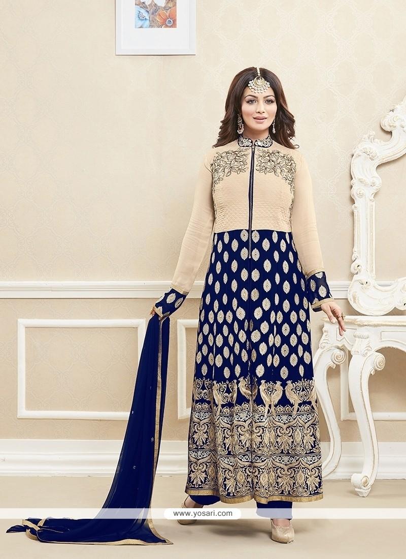 Ayesha Takia Patch Border Work Designer Suit