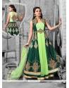 Invaluable Raw Silk Anarkali Salwar Kameez