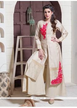 Festal Embroidered Work Designer Suit