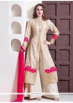 Modish Embroidered Work Designer Suit