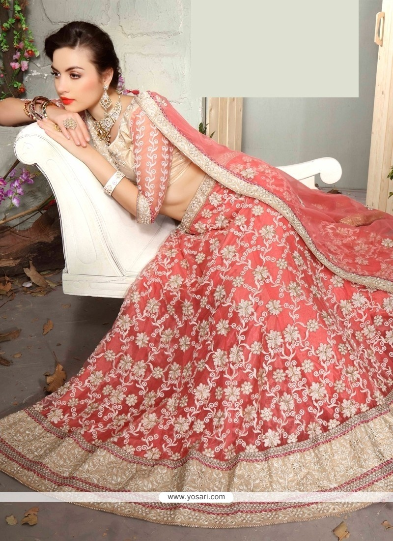 Fab A Line Lehenga Choli For Wedding