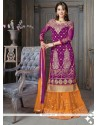 Blooming A Line Lehenga Choli For Party
