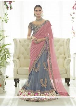 Beauteous Net A Line Lehenga Choli