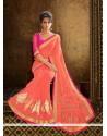 Vivid Embroidered Work Designer Saree