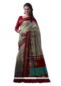 Magnificent Multi Colour Casual Saree