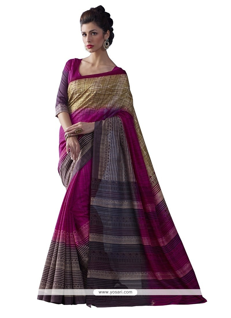 Ravishing Multi Colour Casual Saree