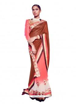 Gleaming Jacquard Designer Saree