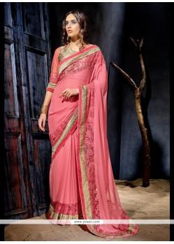 Enthralling Net Designer Saree