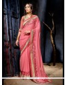 Enthralling Net Designer Saree