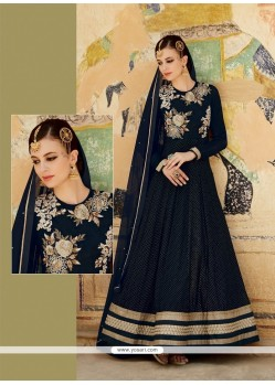 Voluptuous Net Embroidered Work Designer Suit