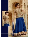 Dainty Blue Designer Suit