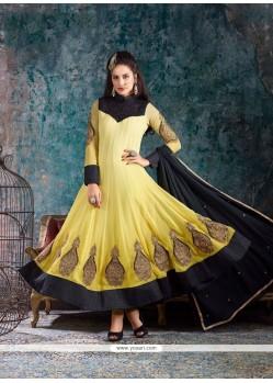 Blissful Georgette Anarkali Salwar Kameez