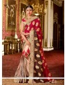 Exquisite Georgette Multi Colour Classic Designer Saree