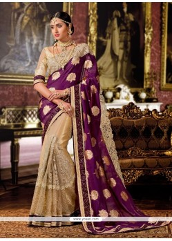 Adorning Patch Border Work Georgette Classic Designer Saree