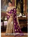 Adorning Patch Border Work Georgette Classic Designer Saree