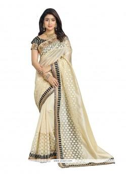 Nice Banarasi Silk Designer Saree